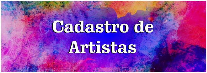 Cadastro de Artistas